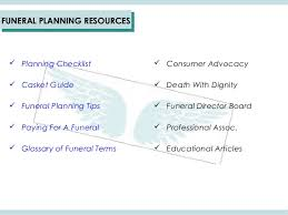 funeral planning checklist overview of i m sorry to hear funeral planning online