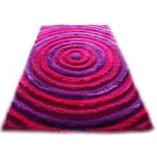 Area Rugs With Purple Noble House Bristol Pink Purple Shag Area Rug U0026 Reviews Wayfair