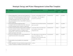 management action plan template sample helloalive