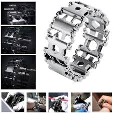 bracelet multi tool images 29in1 multi tool chain stainless steel bracelet outdoor sport jpg