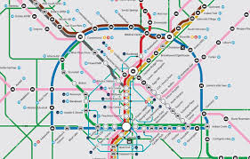 Atlanta Area Map Presenting Atl U0027s Most Comprehensive Transit Map Of All Time