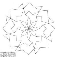 105 best zentangles templates images on pinterest coloring