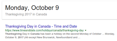 Thanksgiving Date In Canada Int What Is The Next Holiday Coming Up In Your Country