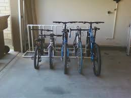 bike rack for garage floor space the better garages ideal image bike rack for garage floor designs