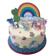 pony cake my pony happy birthday edible wafer paper cake