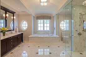 inspired marble flooring convention toronto traditional bathroom