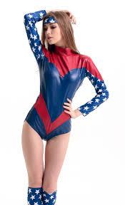 Halloween Usa Costumes The American Dream Superhero Costume N10662