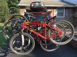 jeep wrangler mountain bike trailer lights mounted on your rack mtbr com