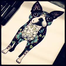 36 best dog tattoos images on pinterest bulldogs dog and gift