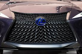 lexus is grill the lexus ux concept looks like it will chew you up and spit you