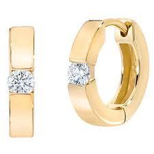 gold diamond earrings yellow gold diamond earrings costco