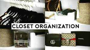 small closet organization hacks u0026 affordable storage tips youtube