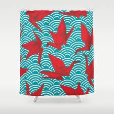 Teal And Red Curtains Amazing Red And Teal Shower Curtain Contemporary Best Idea Home