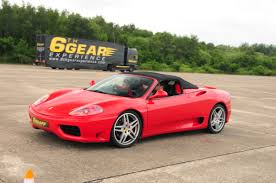 ferrari supercar junior ferrari driving experience from 6th gear