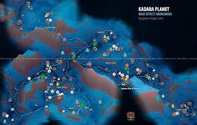 Crafting Dead Map Kadara Map Walkthrough Guide Mass Effect Andromeda Game Maps Com