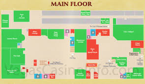 Las Vegas Strip Casino Map by Gold Coast Casino Map