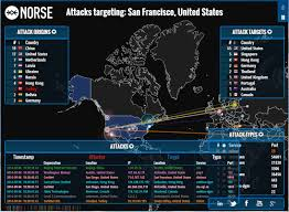 Live Attack Map Cyber Warfare Is Everywhere And Always Pc Tips