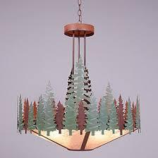 tree chandelier rustic chandeliers 24 inch crestline pine tree chandelier black