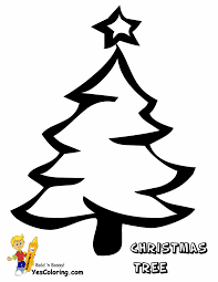 christmas tree coloring pages getcoloringpages com