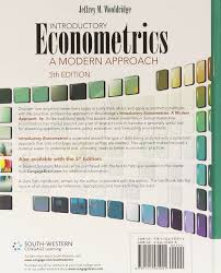 introductory econometrics a modern approach amazon co uk