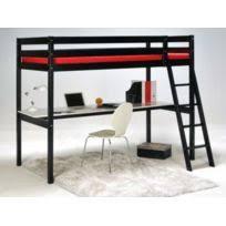 lit superposé avec bureau pas cher lit mezzanine avec bureau achat lit mezzanine avec bureau pas cher