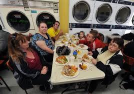 gallery laundromat thanksgiving dinner