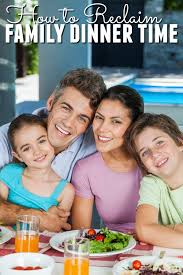 Seeking Dinner How To Reclaim Family Dinner Time Happy Mothering