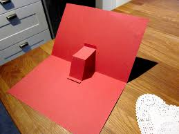 mama u0027s little muse easy pop up valentine u0027s day card kid u0027s craft