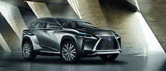 lexus turbo is debut for lexus lf nx turbo suv concept at tokyo motor show