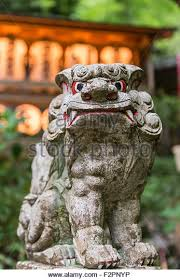 japanese guard dog statues japanese guardian statue stock photos japanese guardian statue