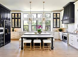 kitchen with black island and white cabinets delicacy how to bring a brilliant black island into