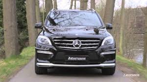 mercedes ml 65 amg mercedes ml 63 amg tuning to 660 hp with amazing exhaust sound