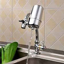 kitchen faucet water purifier amazon com faucet water filter tap water purifier filter best