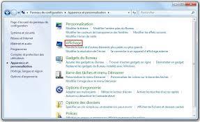 windows 7 modifier la taille du texte pour faciliter la lecture