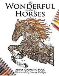 amazon mustangs mandalas coloring book horse