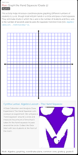 graph the hand squeeze free lesson plan this activity helps
