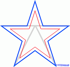 Dallas Cowboys Drapes by How To Draw The Dallas Cowboys Dallas Cowboys Step 4 Dallas