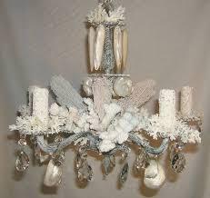diy shell chandelier shell chandelier home designs