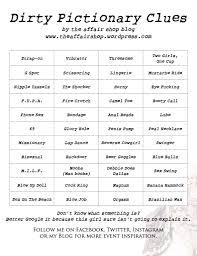 halloween charades printable dirty pictionary u2013 the affair shop blog