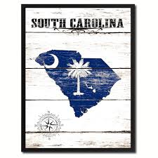 South Carolina Flags South Carolina State Home Decor Office Wall Art Decoration Bedroom