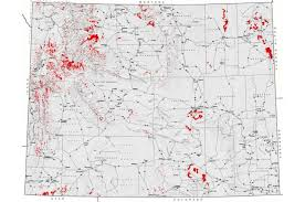 map of wyoming map of landslides in wyoming american geosciences institute