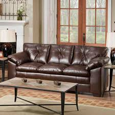 Motion Leather Sofa Simmons Leather Sofa In The Living