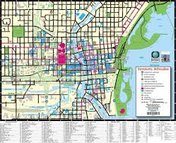 Wisconsin Usa Map Milwaukee Street Map Street Map Of Milwaukee Wisconsin Usa