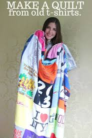 Upcycle Old Tshirts - upcycle old t shirts into a quilt mostly morgan