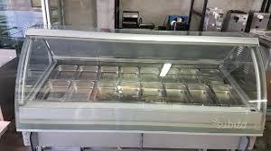 banco gelati usato banco vetrina gelati gelateria 24 gusti usata attrezzature di
