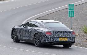 bentley 2018 spy photos specs of new 2018 bentley continental gt by car magazine