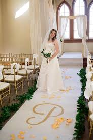 burlap wedding aisle runner 40ft x 4ft burlap wedding aisle runner with custom monogram