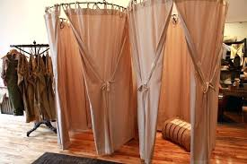 Fitting Room Curtains White Dressing Room Curtains Best Beautiful Fitting Rooms Images