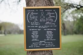 wedding program board chalkboard wedding program wedding wedding