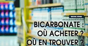 utilité bicarbonate de soude en cuisine bicarbonate de soude où acheter quel rayon bicarbonate